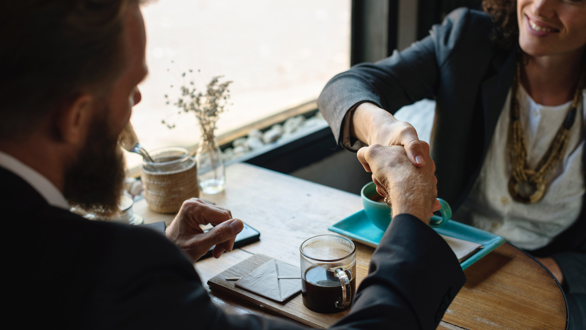 Hiring staff and closing a deal