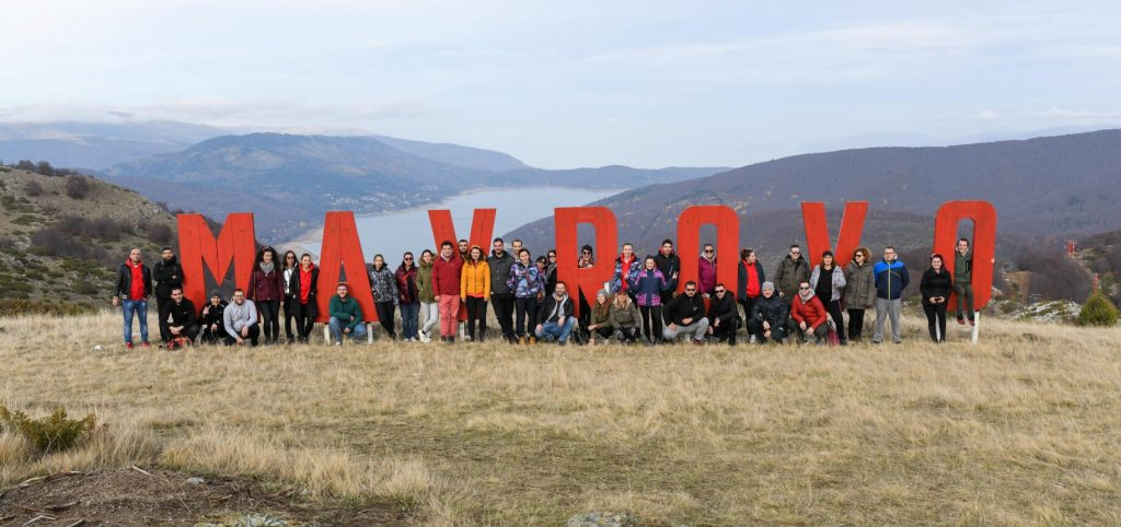 Team Building in Mavrovo, Macedonia