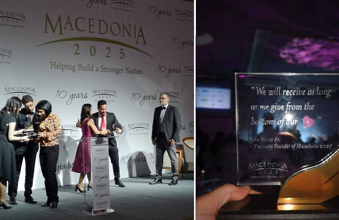 The recognition award