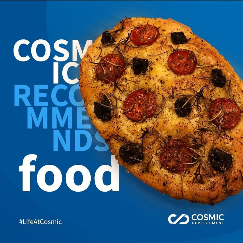 Cosmic Recommends Food