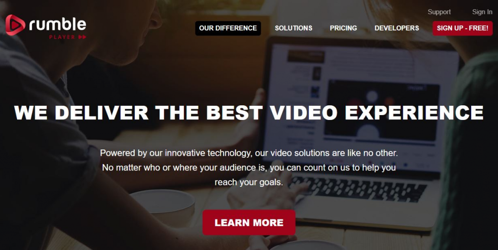 Rumble Video Player
